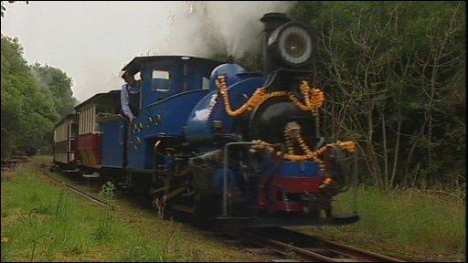 The Dharjeeling Himalayan Railways Number 19 engine