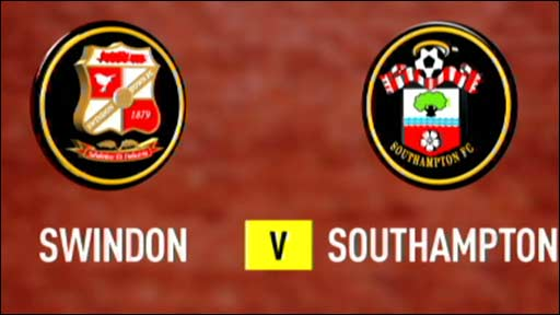 Swindon v Southampton