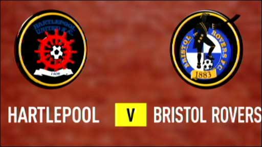 Hartlepool v Bristol Rovers