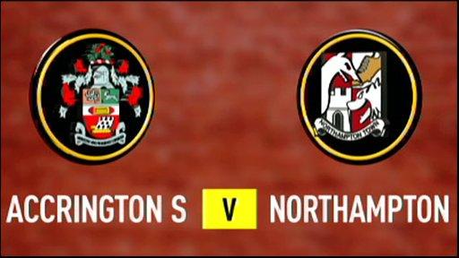 Accrington Stanley 0-3 Northampton