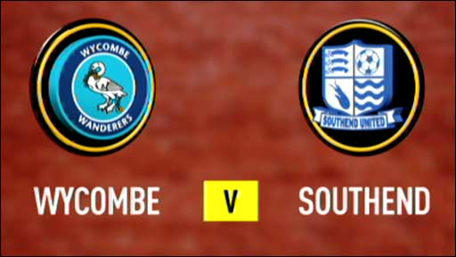 Wycombe v Southend
