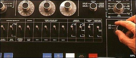 IBM 360 computer, 1971 (SPL)