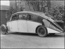 Burney Streamline Car