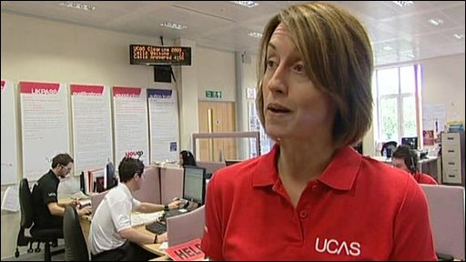 Kate Burton, UCAS Customer Service Manager