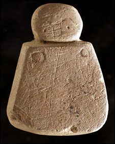 Face find [Pic: Historic Scotland]