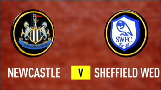 Newcastle 1-0 Sheff Wed