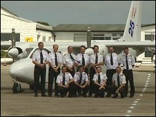 Skybus pilots