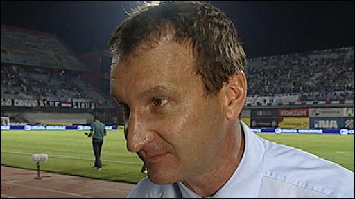 Heart of Midlothian manager Csaba Laszlo