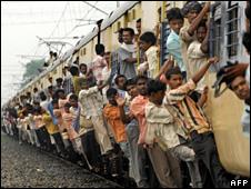 A train in Bihar