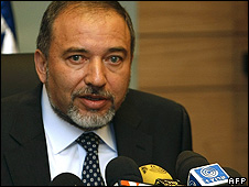 Israeli Foreign Minister Avigdor Lieberman - March 2009