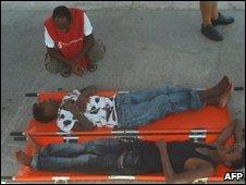 Two Eritrean migrants