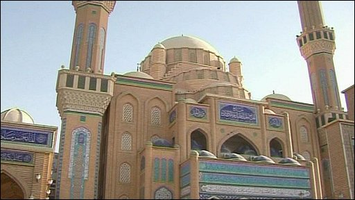 Mosque in Erbil, Iraqi Kurdistan
