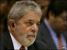 President Inacio Lula Da Silva, July 2009