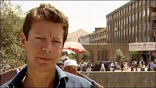 Ian Pannell in Kabul