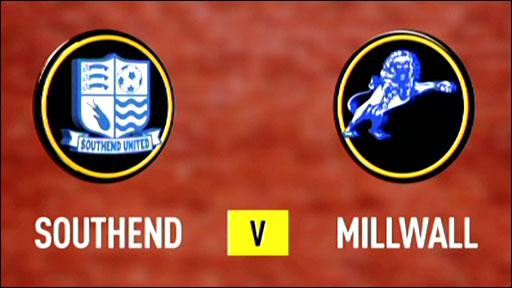 Southend v Millwall
