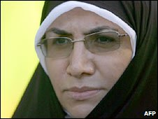 Sousan Keshavarz, one of three women nominated to Iran's cabinet
