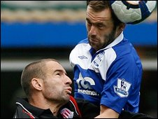Danny Higginbottom and James McFadden