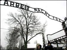 Auschwitz main gates