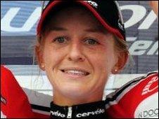 British cyclist Emma Pooley