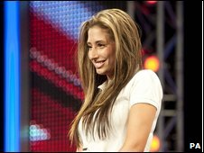 X factor auditionee Stacey Solomon
