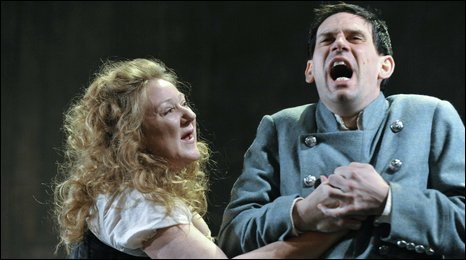 Kathryn Howden and Andy Clark in the Last Witch