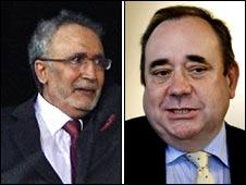 Abdelbaset Ali al-Megrahi; Scotland First Minister Alex Salmond