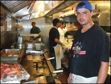 Brazilian kitchen workers in Martha's Vineyard