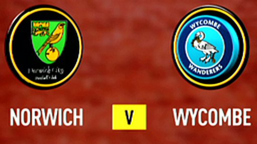 Highlights - Norwich 5-2 Wycombe