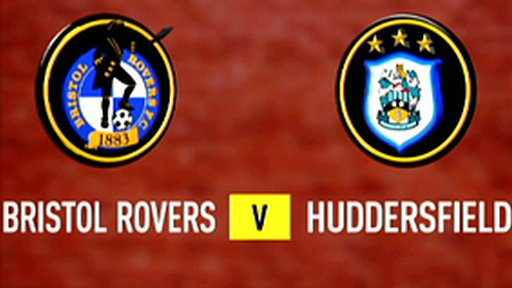Highlights - Bristol Rovers 1-0 Huddersfield