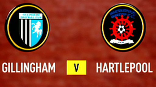 Highlights - Gillingham 0-1 Hartlepool