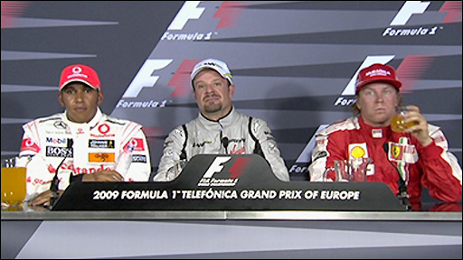 Drivers' news conference