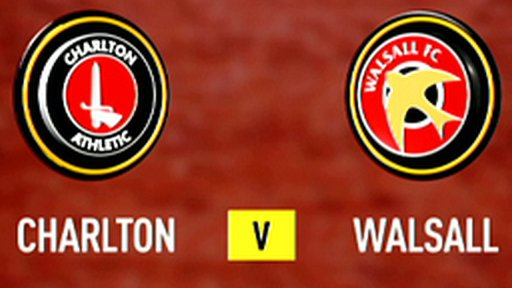 Highlights - Charlton 2-0 Walsall