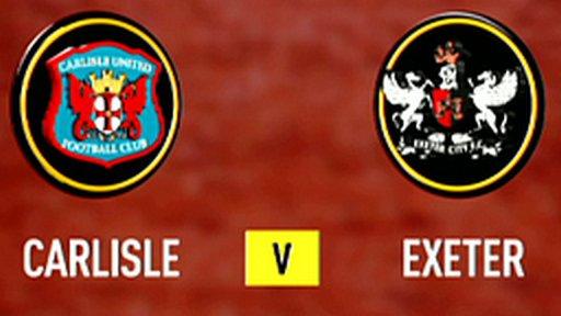 Highlights - Carlisle 0-1 Exeter