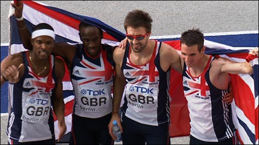 Replay - GB men claim Silver in 4x400m
