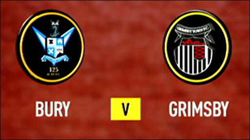 Bury v Grimsby