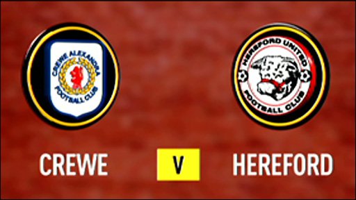 Crewe 1-0 Hereford