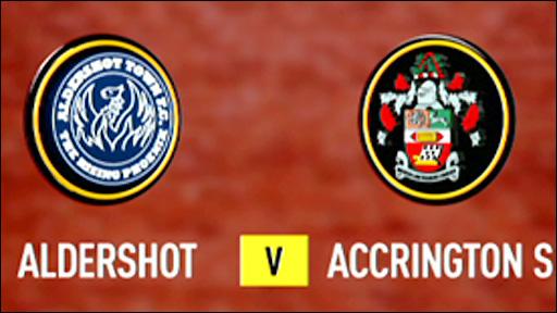 Aldershot 3-1 Accrington