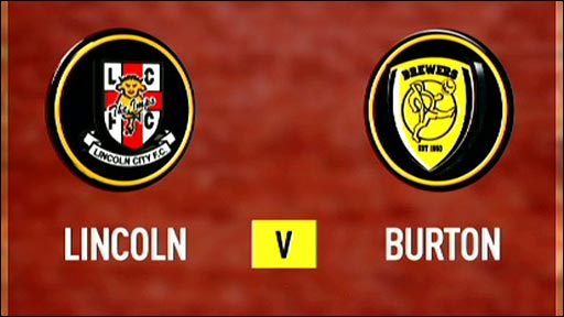 Lincoln City v Burton Albion