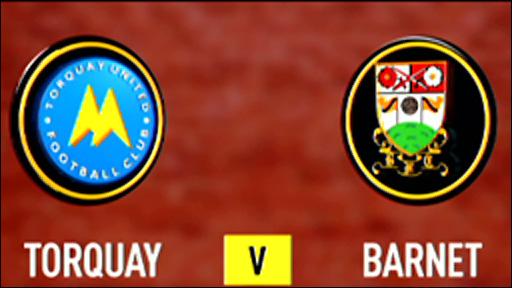 Torquay 0-1 Barnet