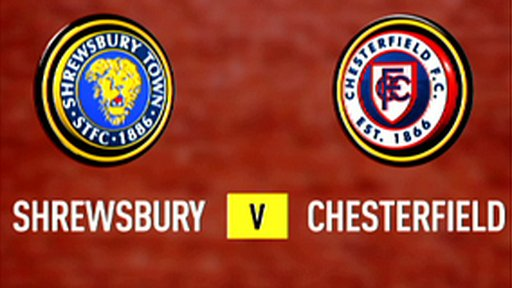 Highlights - Shrewsbury 1-1 Chesterfield