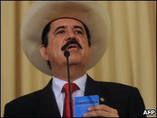 Ousted Honduran President Manuel Zelaya