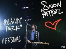 Snow Patrol at V Festival