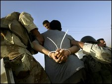 raqi detainees in Baquba, 2005