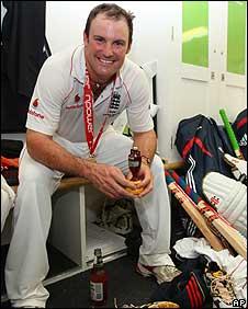England skipper Andrew Strauss