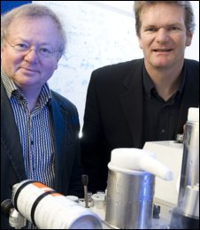 Professor Vyvyan Howard and Dr Christian Holscher