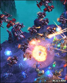 StarCraft2 screenshot (Blizzard)