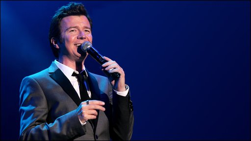 Rick Astley at Rewind. Photo: Simeon David