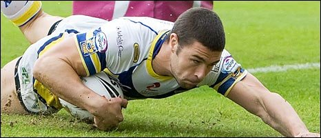 Richard Mathers. Pic: Warrington Wolves