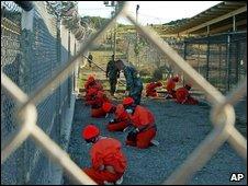 Guantanamo Bay detainees in 2002