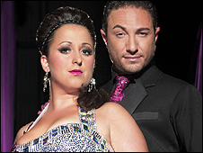 Natalie Cassidy and Vincent Simone